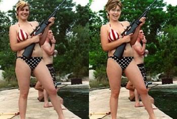 hot women having sex with guns